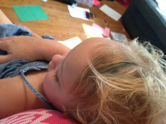 Minty Blue Hair